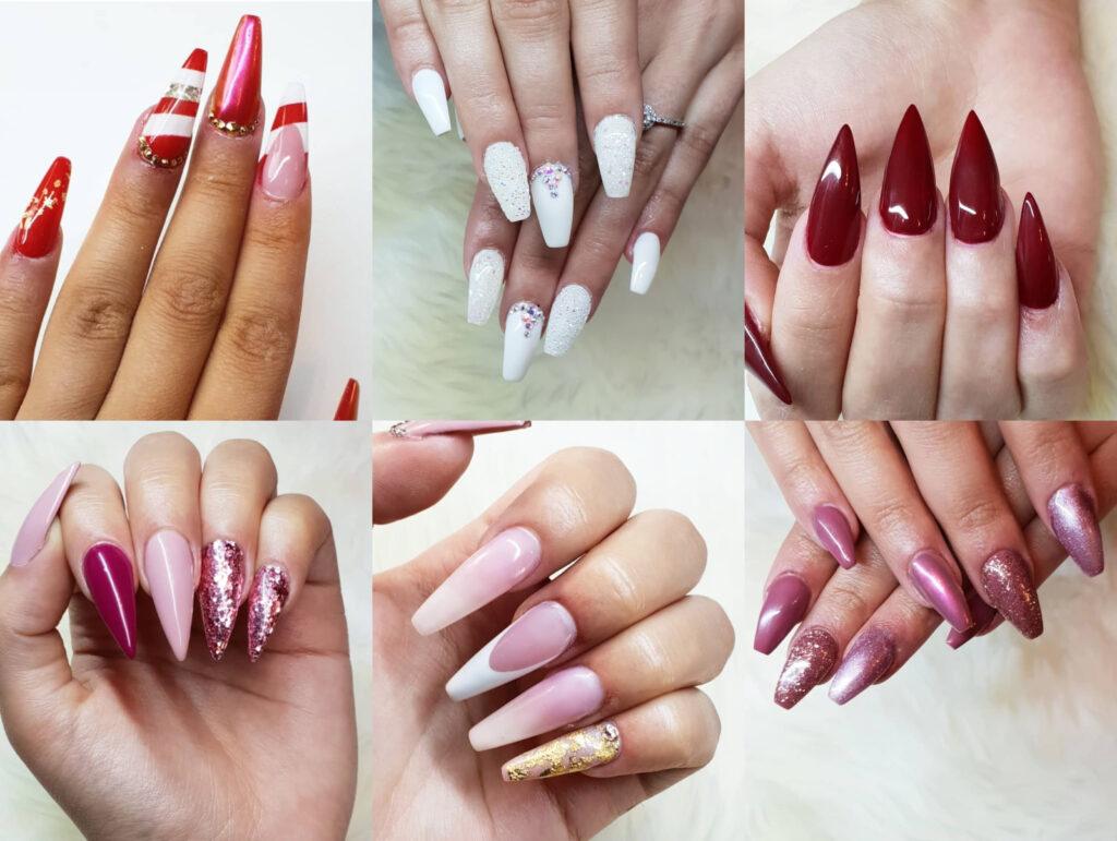 bygga på naglar
